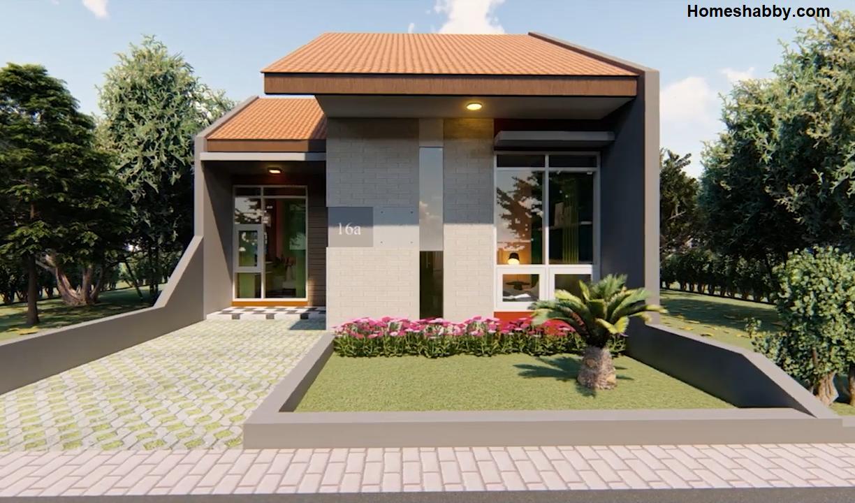 Penggunaan desain rumah modern yang tepat untuk rumah ukuran sedang